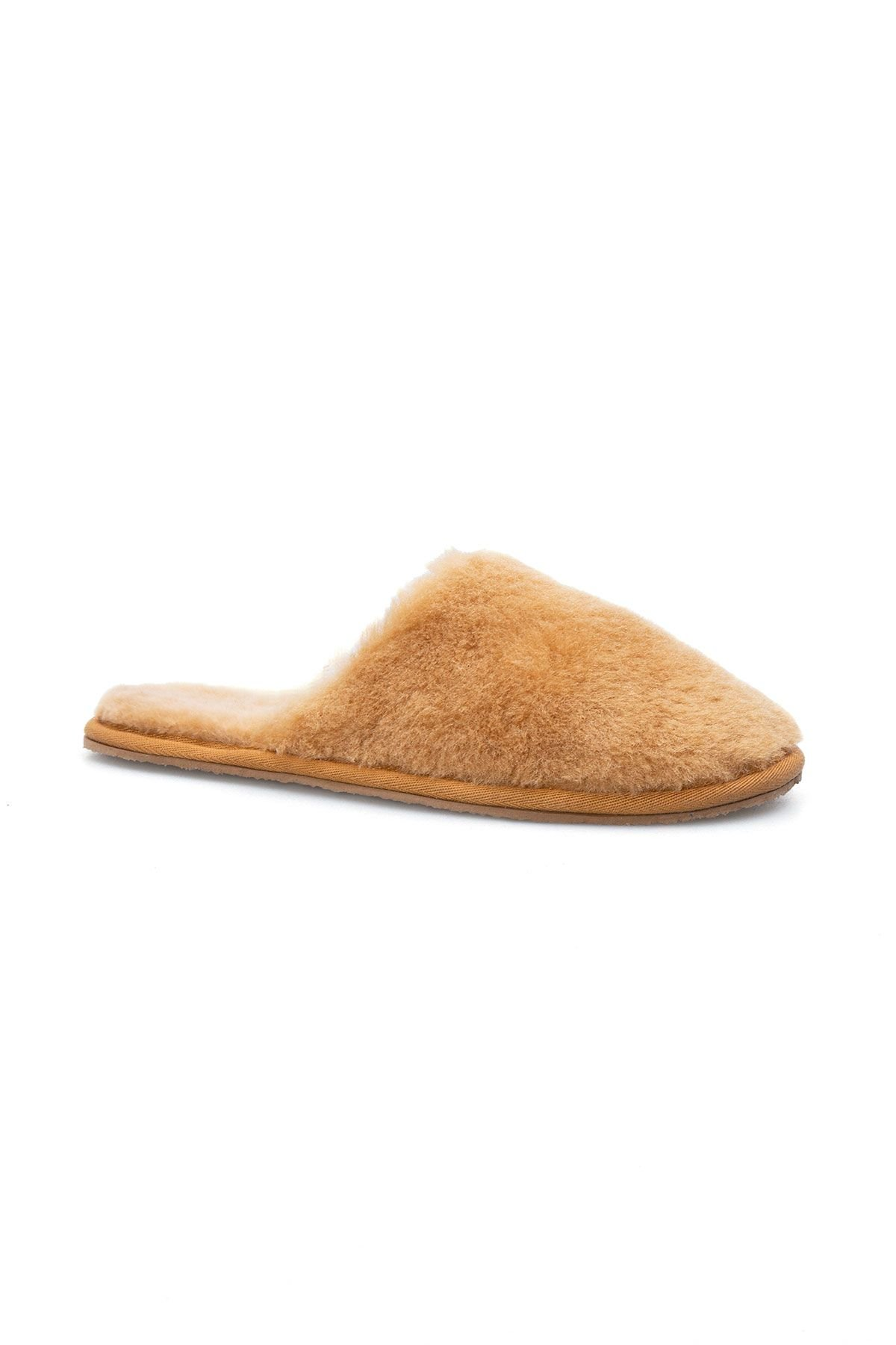 Pegia Women Shearling Slippers 191092 Yellow