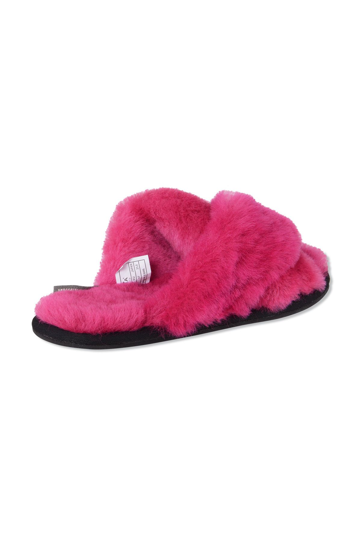Pegia Women's Shearling Slippers 191096 Magenta