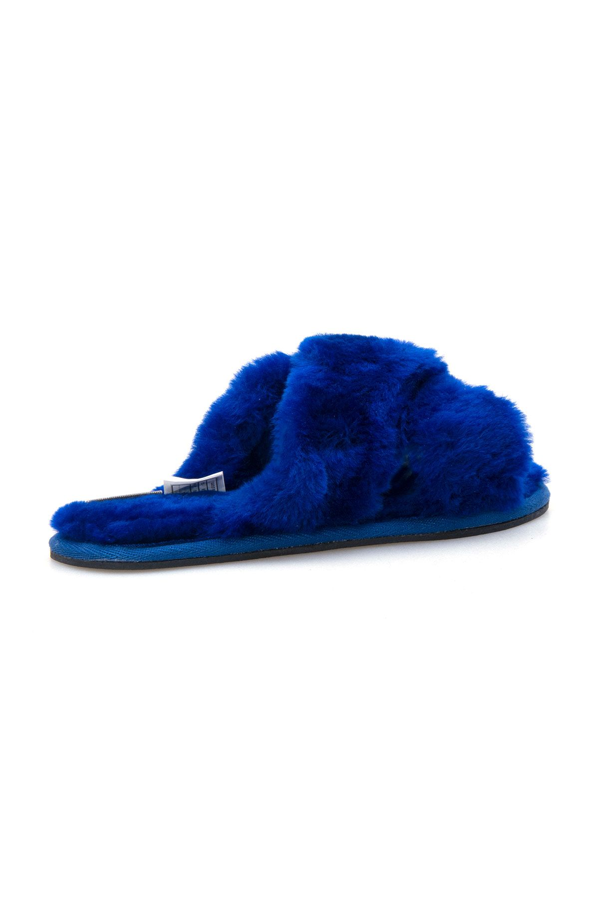 Pegia Women's Shearling Slippers 191096 Navy blue