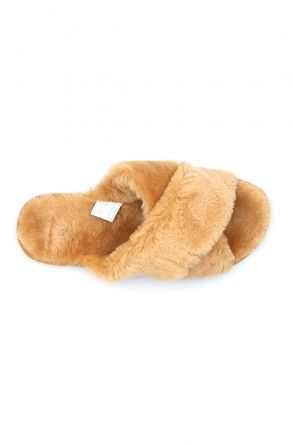 Pegia Women's Shearling Slippers 191096 Yellow