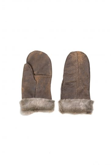 Pegia Sheepskin Unisex Glove EL-005 Brown