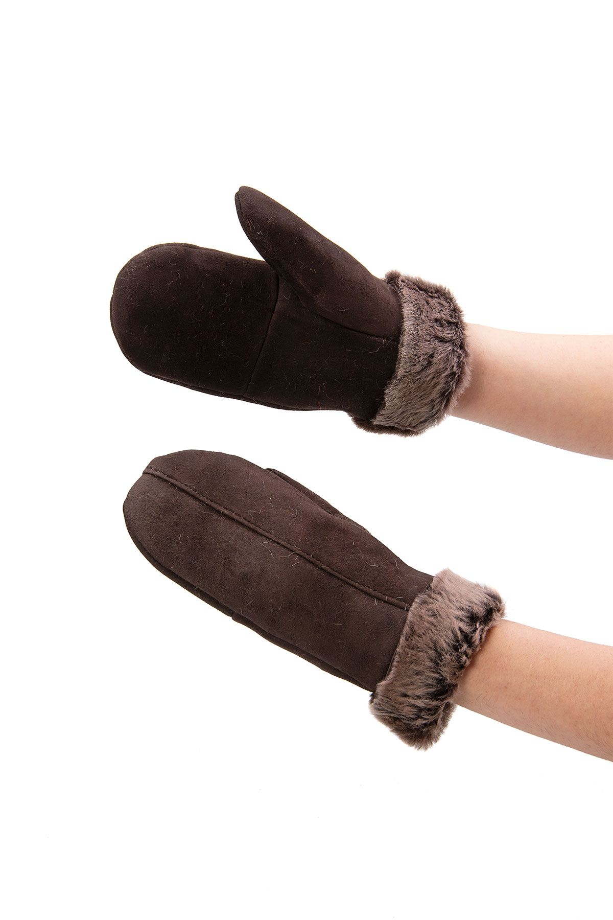 Pegia Sheepskin Unisex Glove EL-006 Brown