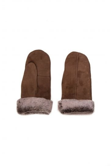Pegia Sheepskin Glove Unisex EL-008 Brown