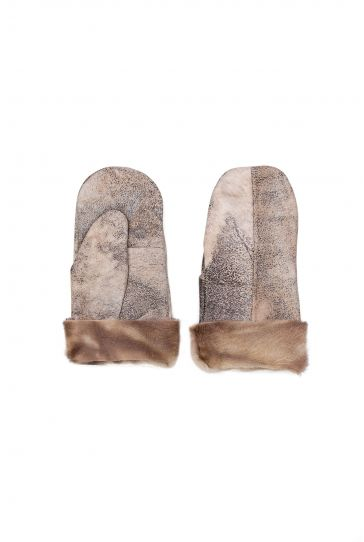 Pegia Genuine Sheepskin Unisex Gloves EL-011 Gray