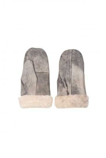 Pegia Genuine Sheepskin Unisex Gloves EL-012 Gray