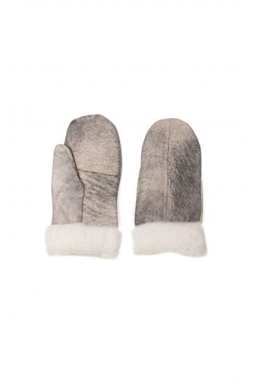Pegia Genuine Sheepskin Unisex Gloves EL-013 Gray