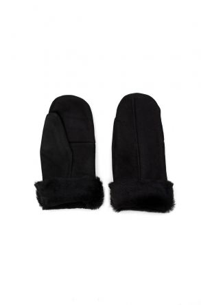 Pegia Unisex Sheepskin Glove EL-021 Black