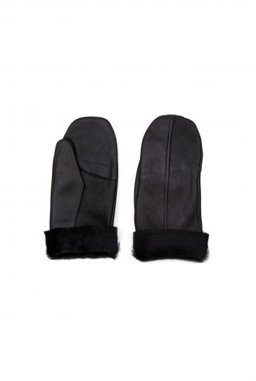 Pegia Unisex Sheepskin Glove EL-023 Black