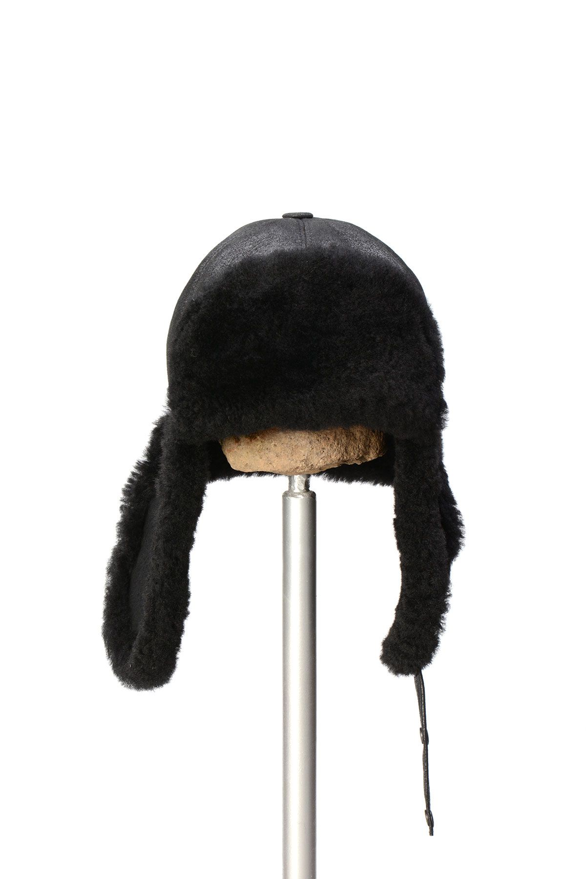 Pegia Genuine Sheepskin Hat 19SB05 Black