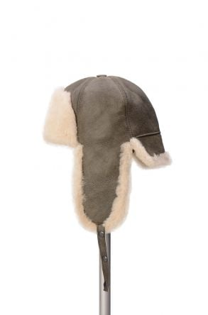 Pegia Genuine Sheepskin Hat 19SB05 Green