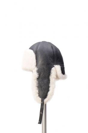 Pegia Шапка из Натуральной Овчины 19SB06 Черный