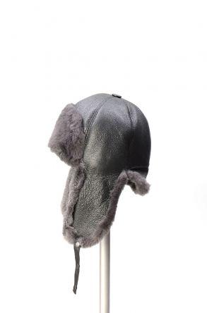 Pegia Шапка из Натуральной Овчины 19SB06 Серый