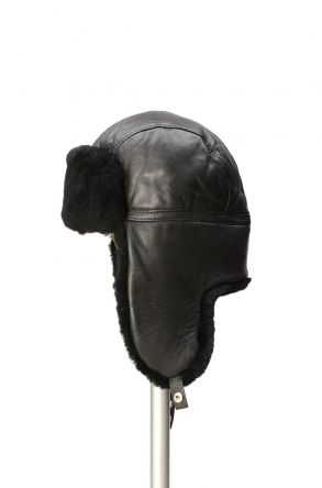Pegia Genuine Sheepskin Hat 19SB07 Black