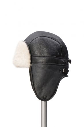Pegia Genuine Sheepskin Hat 19SB08 Black