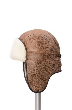 Pegia Genuine Sheepskin Hat 19SB08 Ginger