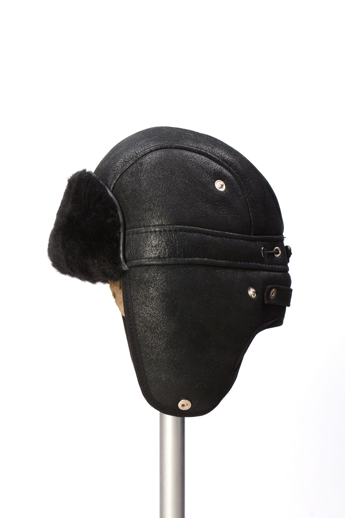 Pegia Genuine Sheepskin Hat 19SB10 Black