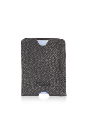 Pegia Genuine Patent Leather Cardholder 19CZ215 Gray