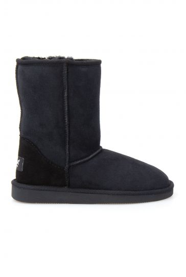 Pegia Genuine Sheepskin Classic Women's Boots 191011 Black