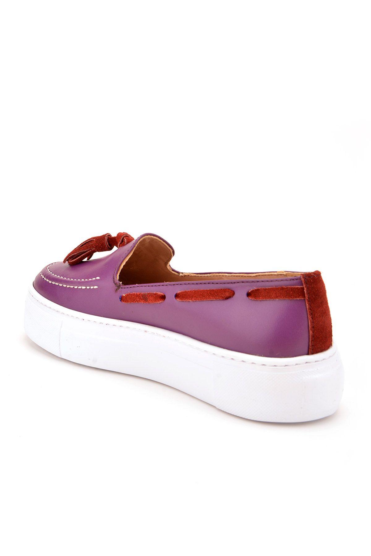 Pegia Pernety Туфли Из Натуральной Кожи  REC-010 Фиолетовый