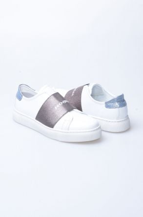 Pegia Recreation Hakiki Deri Bayan Sneaker 19REC101 Антрацитовый