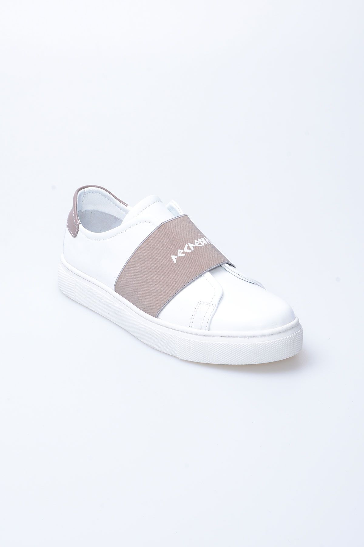 Pegia Recreation Hakiki Deri Bayan Sneaker 19REC101 Vizon