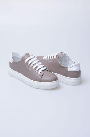 Pegia Recreation Hakiki Deri Bayan Sneaker 19REC201 Визон
