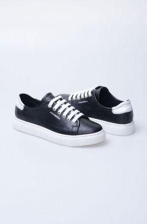 Pegia Recreation Hakiki Deri Bayan Sneaker 19REC201 Black