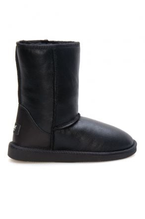 Pegia Shearling Women's Boots 191077 Black