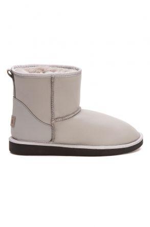 Pegia Women's Sheepskin Boots 191022 Gray