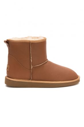 Pegia Women's Sheepskin Boots 191022 Ginger