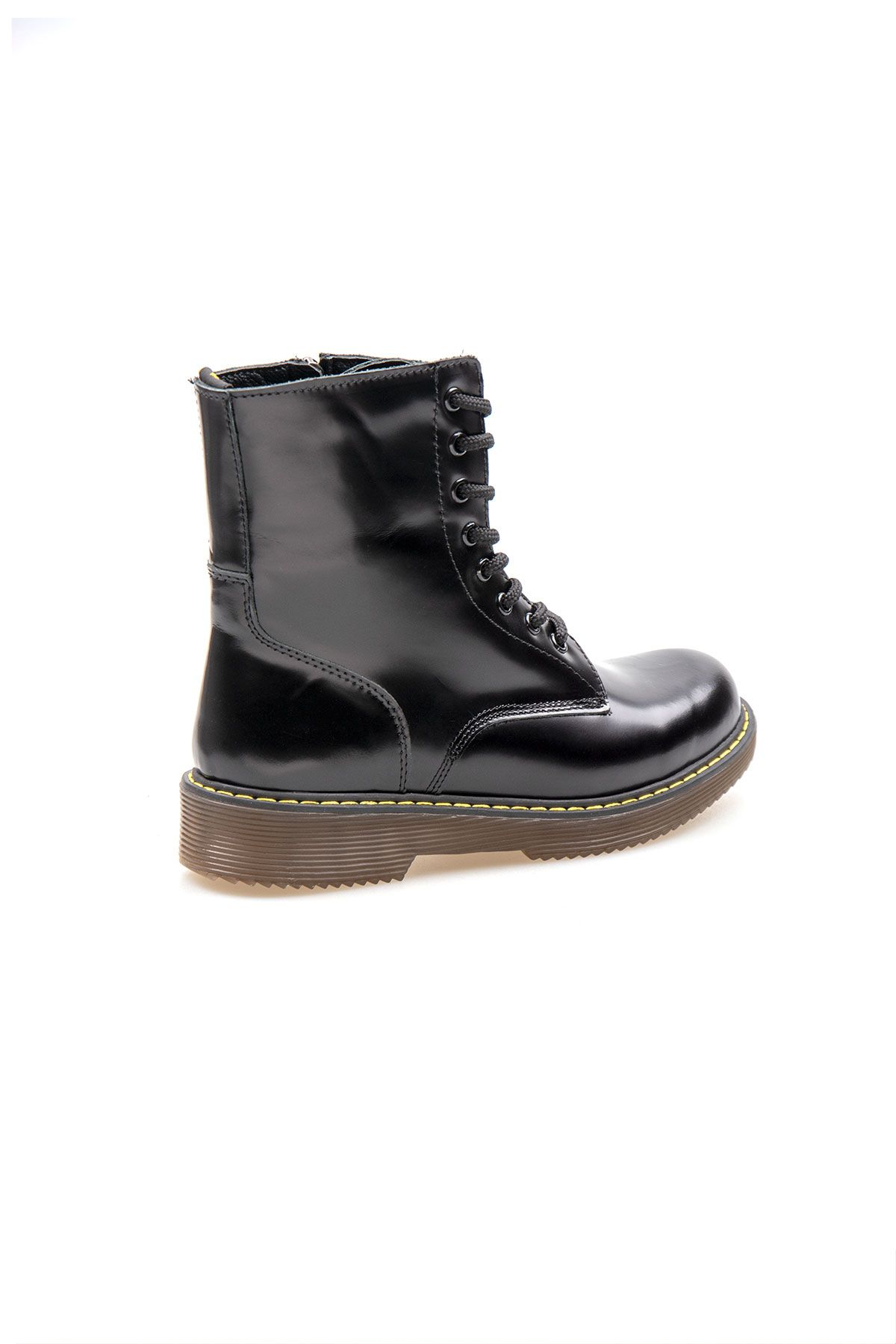 Pegia Genuine Leather Women's Boots 500714 Black