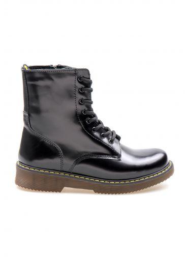Pegia Genuine Leather Women's Boots 500714 Black