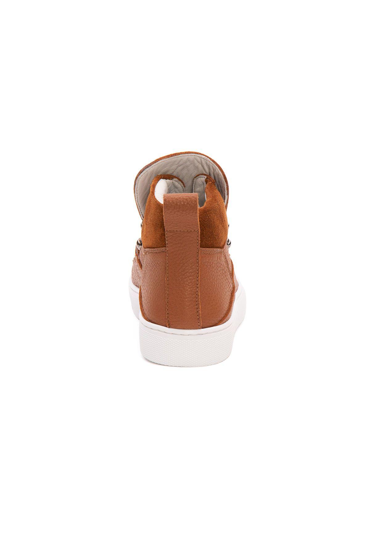 Pegia Genuine Leather Women's Sneaker LA1325 Ginger