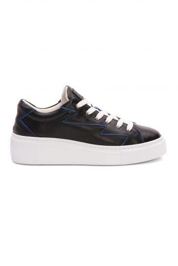 Pegia Genuine Leather Women's Sneaker LA1523 Blue