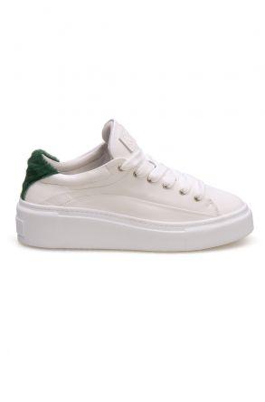 Pegia Genuine Leather Women's Sneaker LA1605 Green