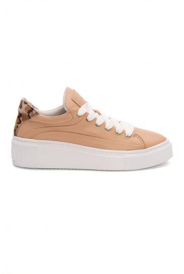 Pegia Genuine Leather Women's Sneaker LA1617 Ginger