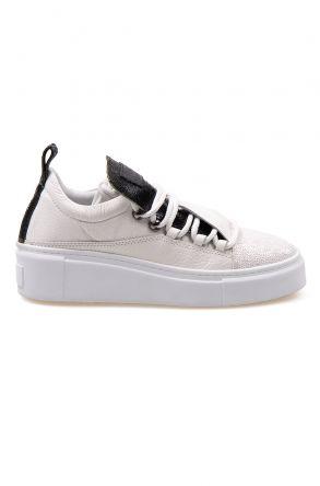 Pegia Genuine Leather Women's Sneaker LA1713 White