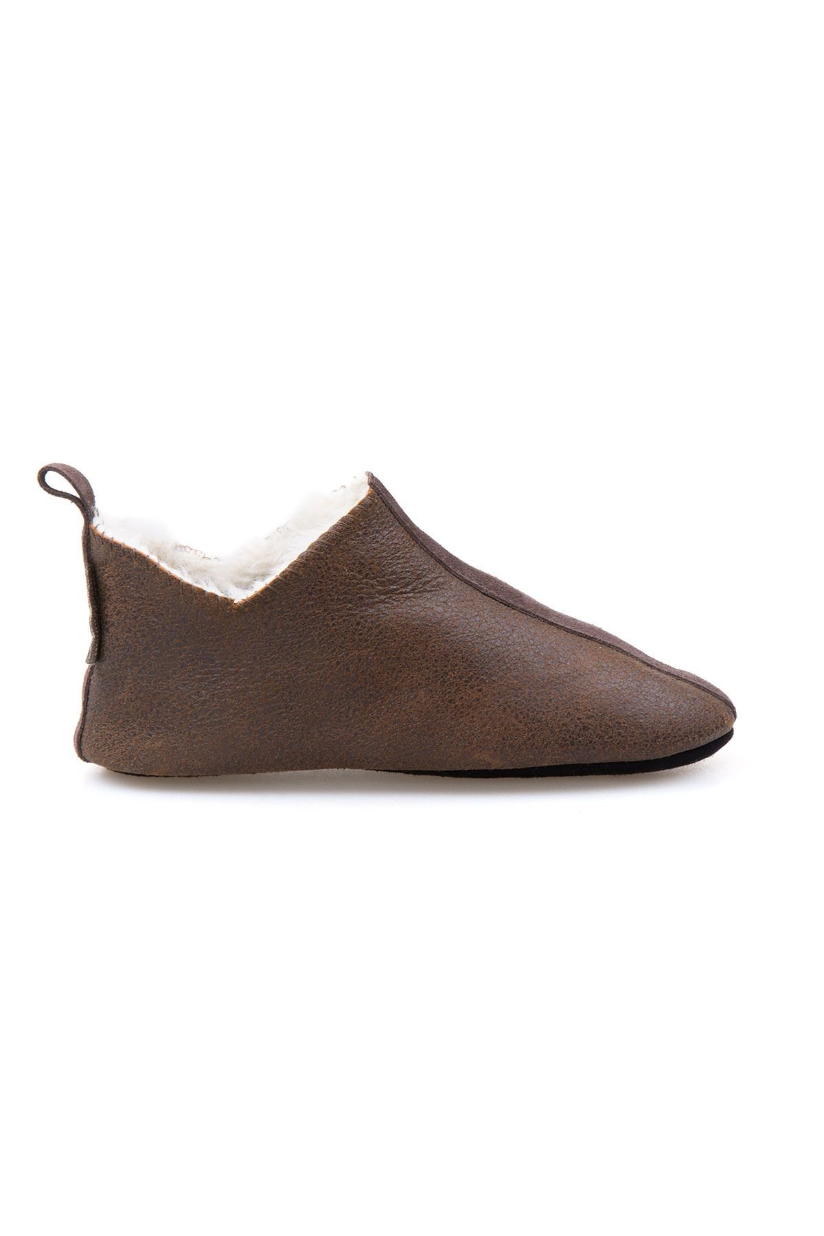 Pegia Shearling Children's Booties 880266 Brown