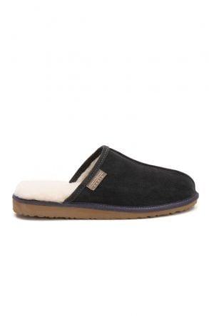 Pegia Shearling Men's House Slippers 111002 Dark Gray