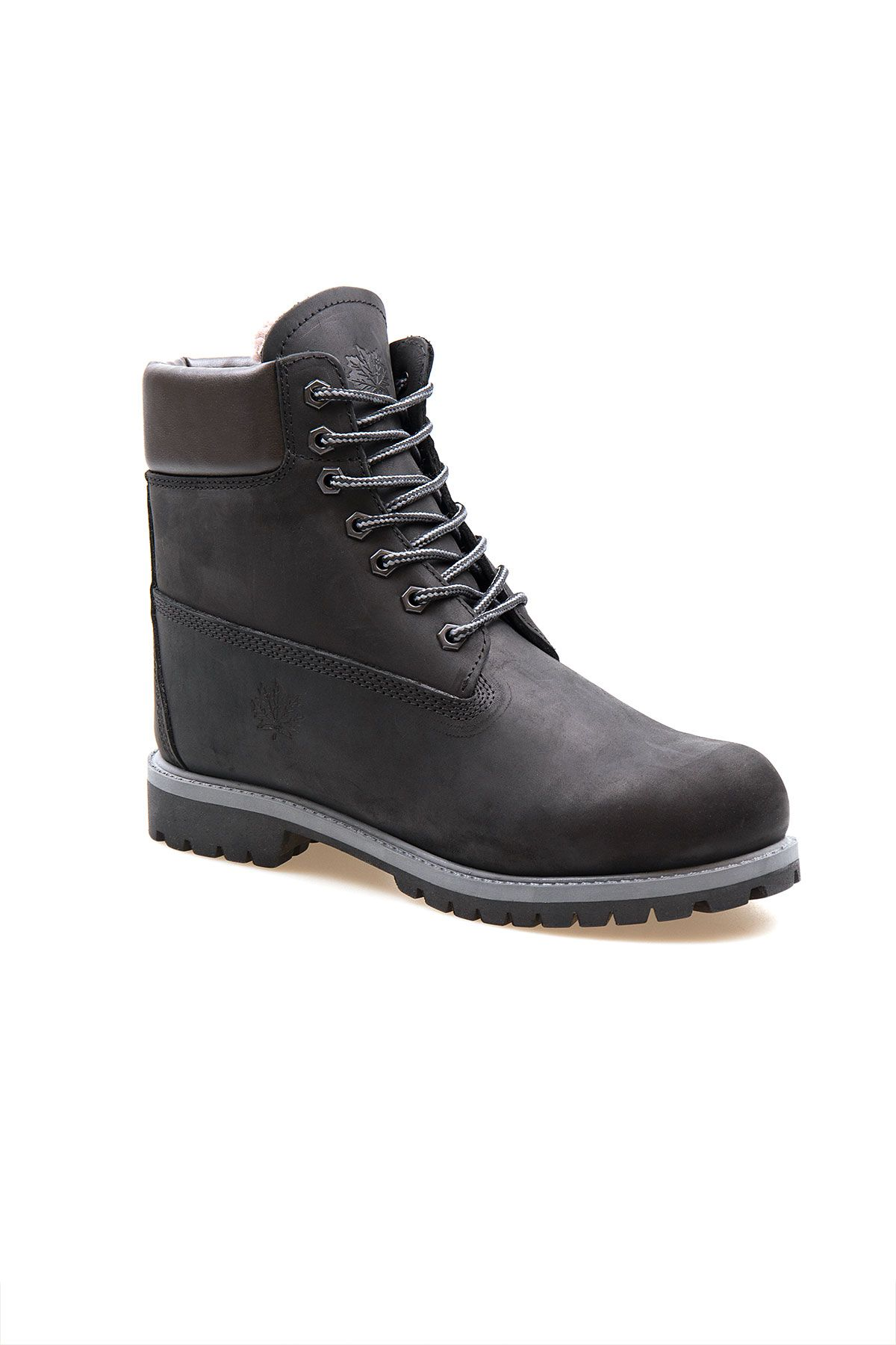 Pegia Genuine Nubuck Men's Boots 500900 Black