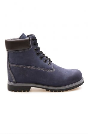 Pegia Genuine Nubuck Men's Boots 500900 Navy blue