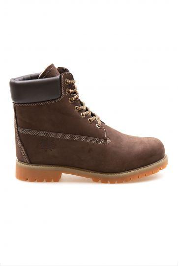 Pegia Genuine Nubuck Men's Boots 500900 Brown