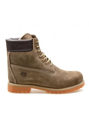 Pegia Genuine Nubuck Men's Boots 500900 Khaki