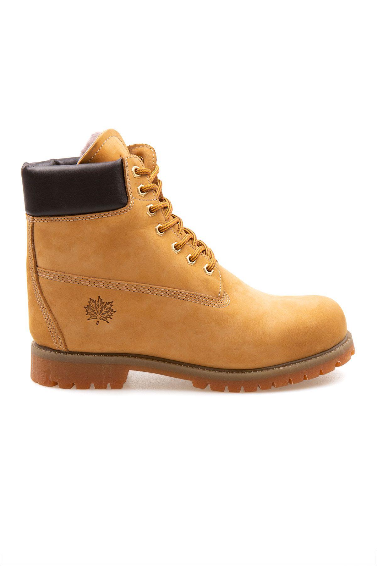 Pegia Genuine Nubuck Men's Boots 500900 Yellow