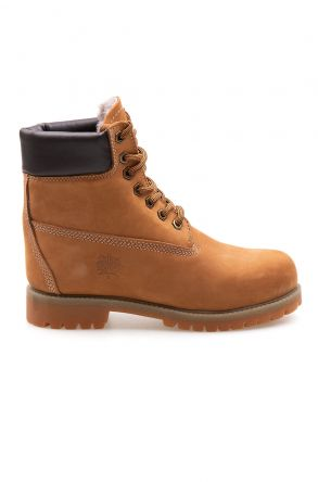 Pegia Genuine Nubuck Women's Boots 500800 Ginger