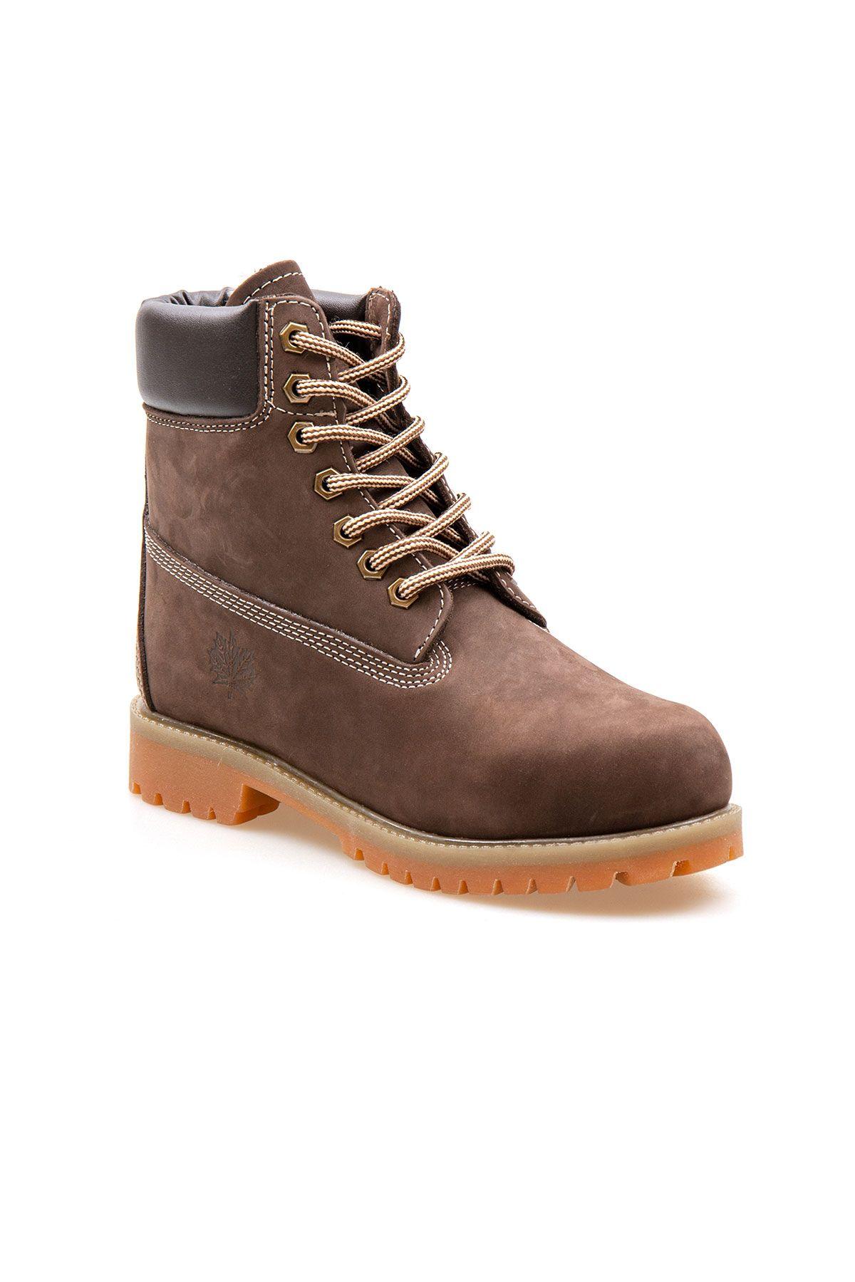 Pegia Genuine Nubuck Women's Boots 500800 Brown