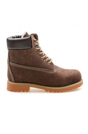 Pegia Genuine Nubuck Women's Boots 500800 Brown