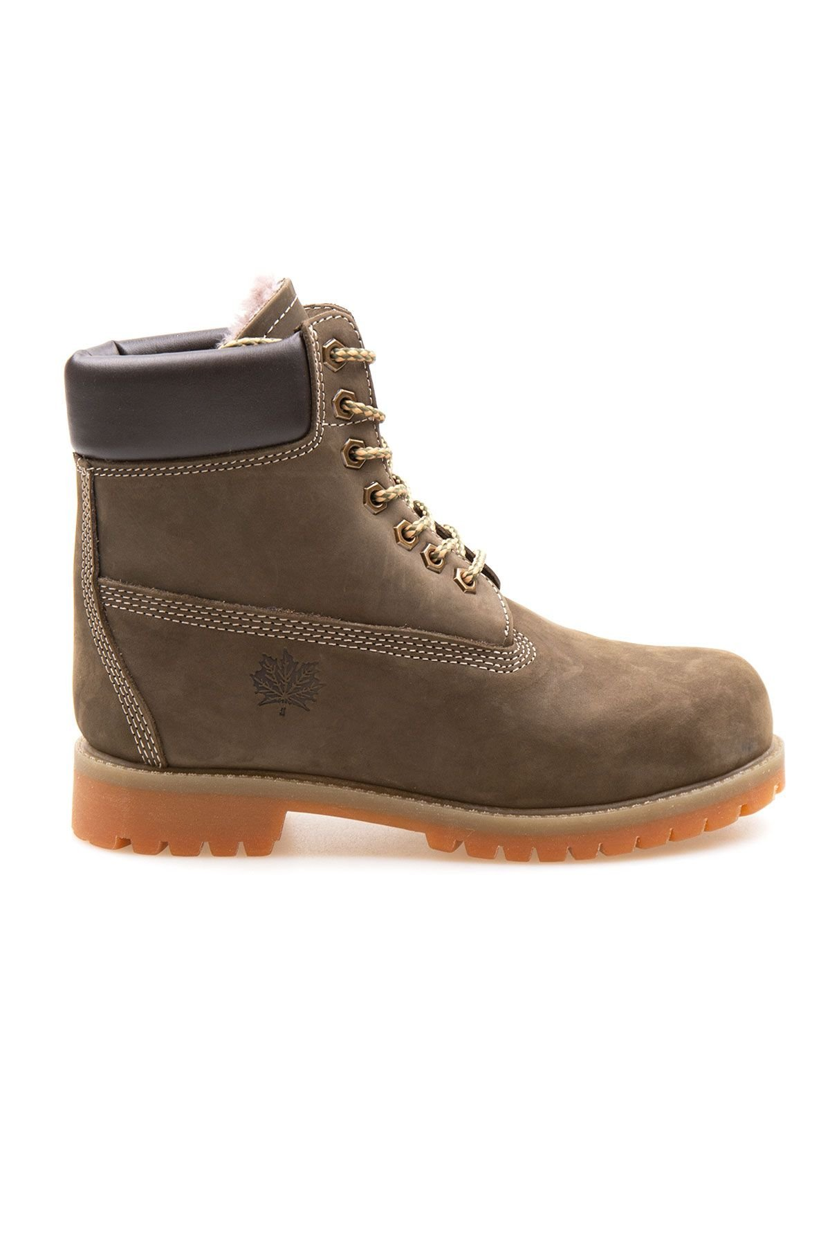 Pegia Genuine Nubuck Women's Boots 500800 Khaki