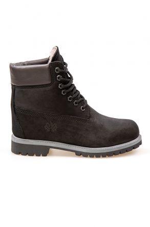 Pegia Genuine Nubuck Women's Boots 500800 Black