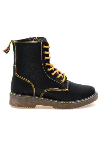 Pegia Genuine Nubuck Women's Boots 500715 Black